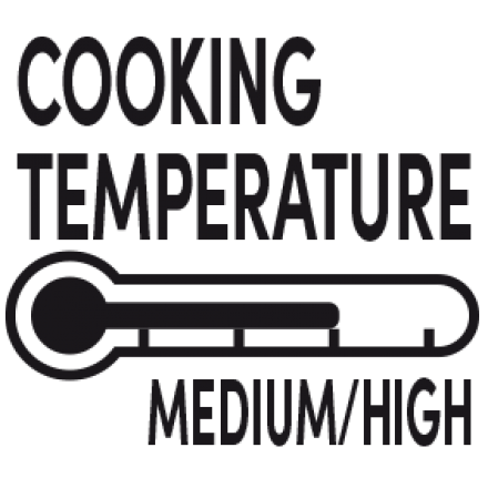 Temperature (Medium High)